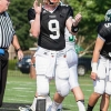 Amputee quarterback Jacob Rainey takes the field in VA
