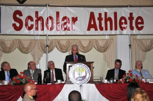 XX student-athletes will be honored at this year's Scholar Athlete banquet.