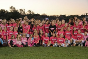 Pink out charity