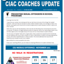 September Coaches Newsletter Addresses Challenging Topic