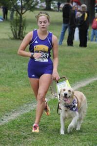 Cross Country ohio runner dog