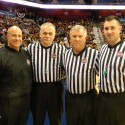 Officials Enjoy Memorable Night In Basketball Final