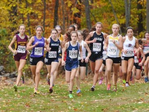 Many of the top runners from the Connecticut State Cross Country Open will take part in the 80th New England Championships. MaxPreps photo by Geoffrey Bolte