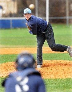 Ansonia's Sean Bonaparte has been pitching with a profound purpose this season. Mara Lavitt - New Haven Register.