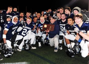 Ansonia showed no sign of a letdown in its season-opening win. MaxPreps photo by Kevin Pataky.