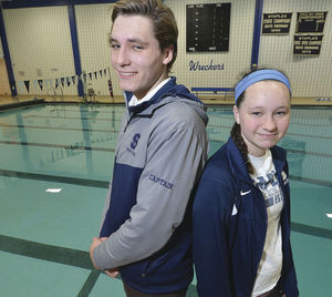 North and Willow Woods have both played critical roles for the Staples swimming program. Alex von Kleydorff - Norwalk Hour.