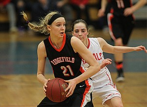 Rebecca Lawrence broke out for Ridgefield this season propelling the team. J. Gregory Raymond  - TheRudenReport.com.