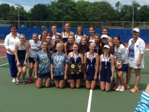 Lauralton Hall concluded an unbeaten season with a Class M Championship. Chris Hunn - New Haven Register.