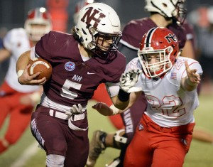 Mike Montano powered the North Haven offense. Kevin Pataky - MaxPreps.