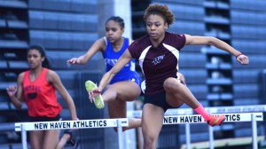 Kenya Werner was the driving force as Windsor earned the Class L indoor title. Peter Casolino - Hartford Courant.