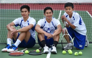 The Delgado brothers have been a significant boost for the West Haven boys tennis program. Catherine Avalone - New Haven Register.