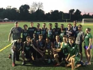 A strong finish propelled Northwest Catholic to a Class M state title. Photo courtesy Northwest Catholic.