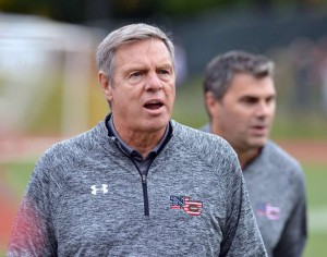 New Canaan coach Lou Marinelli is adding a Hall of Fame honor to his legacy. Bob Luckey Jr. - Hearst Connecticut.