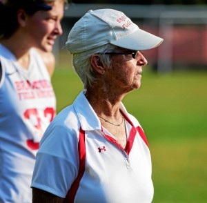 Cathy McGuirk has been at the helm of the Branford field hockey team for 40 seasons. Peter Hvizdak - New Haven Register.