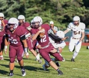 North Haven's Jack Steinman of North Haven is one small part in a big picture of a high school sports season. Kelley Fryer - The Courier.